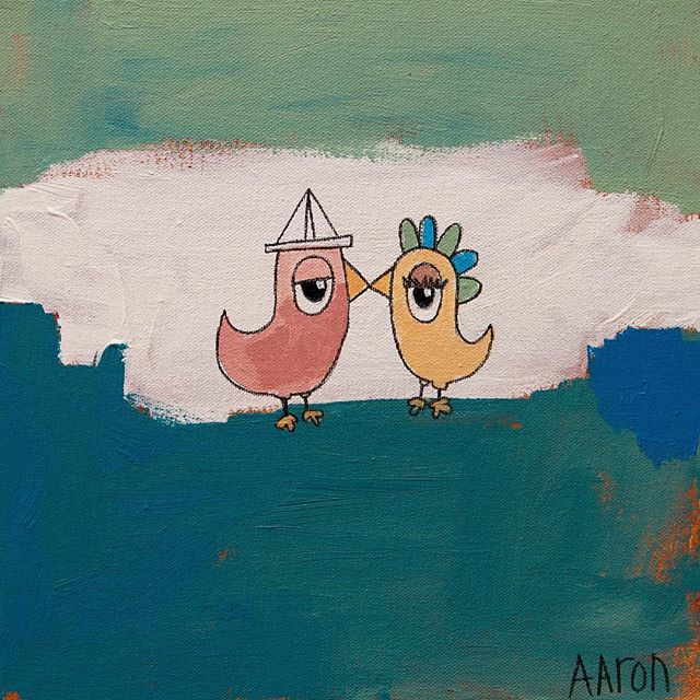 "🏻CHRISTMAS SALE!KISS ME 12"" x 12""Orig: $200 