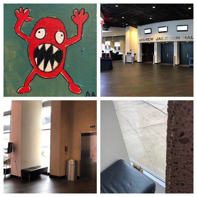 Free art drop Friday! Go find it :) (Hint, if you're heading to  @tedxnashville you've got a slight advantage) ... post a selfie and tag me if you find it :) #fafnsh #famn #faf #freeartnashville #tedxnashville #art #nashville#tedxnashville2018 #aarongrayum