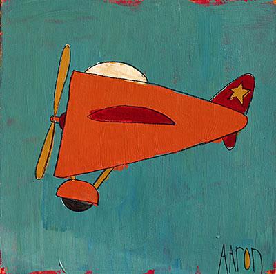 Air-Plane (Orange)