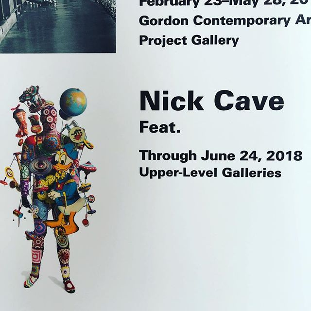 Finally getting to see this exhibit today at the @fristartmuseum ... so excited :)#nashville #art #nickcave